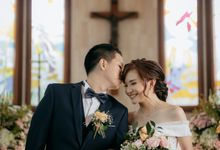 The Wedding of Peter & Angelica by MarisaFe Bridal