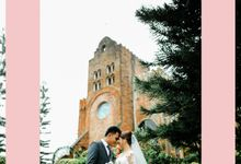 A Lush Green Wedding at Caleruega Church by Marco Constantino