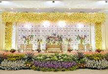 Isyana & Fauzi - PTIK by FIORE & Co. Decoration