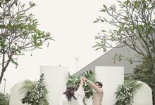 Simple Garden Wedding by Top Fusion Wedding