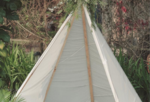Outdoor Wedding Decoration by Top Fusion Art by Top Fusion Wedding