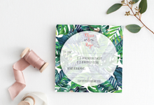 Tropical Wedding Invitation by Weddings by Mint