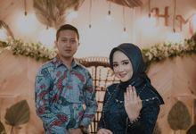 Engagement of Hananti & Mega Duta by Satunama Photography
