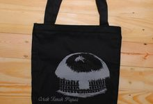 Souvenir Tote Bag Canvas by Plung Creativo