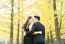 Korean Autumn Engagement shoot by Foreveryday Photography