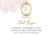 """BELLE EPOQUE"" by Yenty Tan  by Tracy Bridal House"