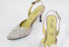 Jasmine Bridal Shoes by Evaldo Bridal Shoes
