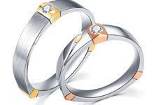 Triadic Hopes Wedding Ring by TIARIA
