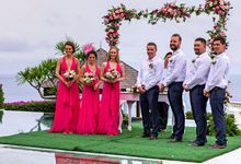 Tristan & Svetlana Wedding by The Surga Villa Estate