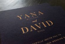 Yana & David Invitations by Tropica Weddings