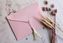 Tassel Embellishments  by Trouvaille Invitation