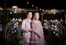 The Wedding Of Ayu & Andari by Villa Srimanganti