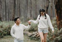 Prewedding Yosua & Melissa by Topoto