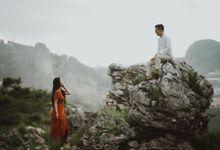 Prewedding Hatono & Michelle by Topoto