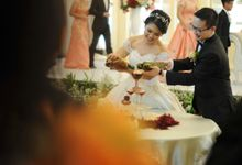 The Wedding of Michael & Emelly by Tiska Catering