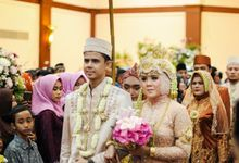 The Wedding of Nofrizal & Tera by Tiska Catering