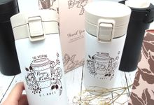 Press Tumbler Include Personalised Printing by Fine Souvenir