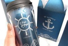 Tumbler Small Include Paperbag & Label by Fine Souvenir