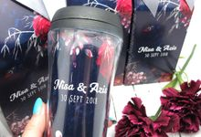 Tumbler Small Include Personalised Paperbag by Fine Souvenir