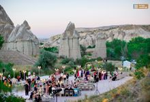 Fairytale Wedding in a Valley by Turkey Weddings