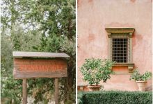 Wedding in Tuscany by Elias Kordelakos