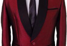 Tuxedo Merah Maroon by Najifa Jas