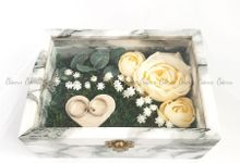 Top View Box - Marble | Wedding Ring Bearer Box Indonesia - Celemor by Celemor