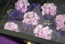 Top View box - Warna | Wedding Ring Bearer Box Indonesia - Celemor by Celemor