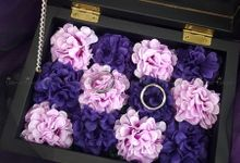 Top View box - Warna | Wedding Ring Bearer Box Indonesia - Celemor by Celemor
