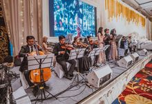 Big Band Orchestra for Grantvin & Anas Wedding by DIVO MUSIC Management