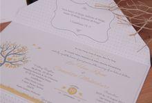 Han Khun & Lita by Grande Gracias Invitations