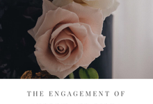 The engagement of Andrew and Ribka by Twenty Two Cakes