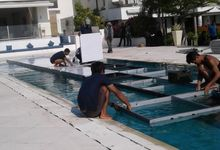 Floating Stage Preparation by Alpatra productions