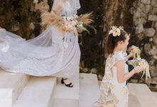 Ceremony at Hanging Garden by Bali Becik Wedding