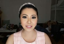Test Makeup & Prewedding Photoshoot For Miss Jepz by Oscar Daniel