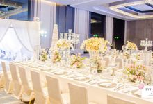 White Wedding Elegance by Eye Candy Manila Event Styling Co.