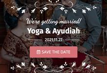 Undangan Website Yoga & Ayudiah by undang.me
