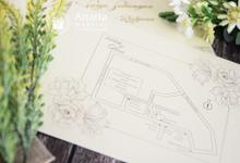 Faddy & Dian Wedding Invitation by Anaria Souvenir Pernikahan