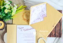 Tiara & Fachruddin Wedding Invitation by Anaria Souvenir Pernikahan