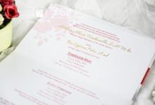 Toni & Ria Wedding Invitation by Anaria Souvenir Pernikahan