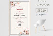 E-Invitation |  Undangan Pernikahan Digital SI-020 by ANYELIR STUDIO