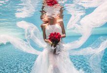 Pre Wedding & Honeymoon Underwater Photography by Alila Manggis