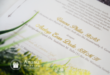 Nessa & Dode Wedding Invitation by Anaria Souvenir Pernikahan