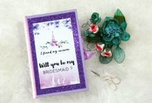 Bridesmaid & Groomsnen Gift  - Proposal box by Box Tale