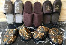Sandal Handuk Custom by Sandal Nusantara by Sandal Nusantara Sovenir