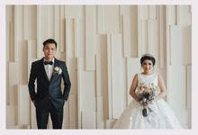 THE WEDDING OF PRICILIA & VINCENT by natalia soetjipto