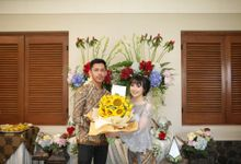 Pray & Inan Engangement by Garland Galore Flower Shop