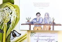 Anissa & Rizky Wedding Invitation by Tokoku