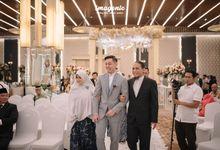 The Wedding of  Thara & Anggara by Menara Mandiri (Ex. Plaza Bapindo) by IKK Wedding
