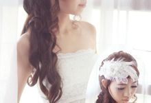 headdresses for Prewedding Photoshoot... by mignon headdresses